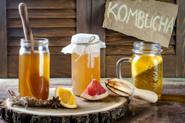 How to make kombucha a home