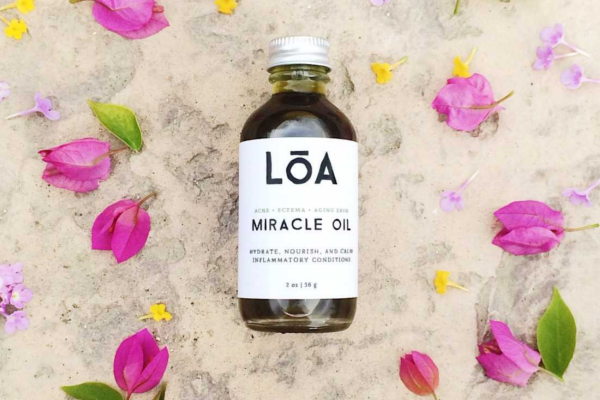 Loa Miracle Oil to treat skin conditions naturally