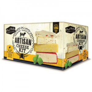 Gift ideas for foodies and home cooks - artisan cheese kit