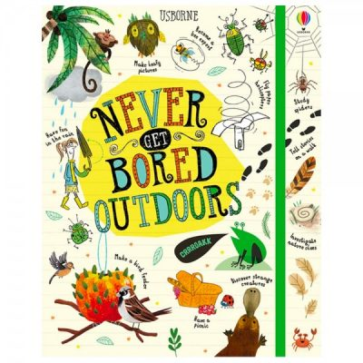 Never get bored outdoors | Kids books that have an environmental message | Biome Eco Stores
