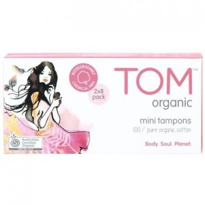 Tom organic cotton tampons - how to have a zero waste period