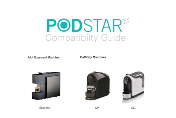 Pod Star reusable coffee pod for Aldi and Nespresso machines