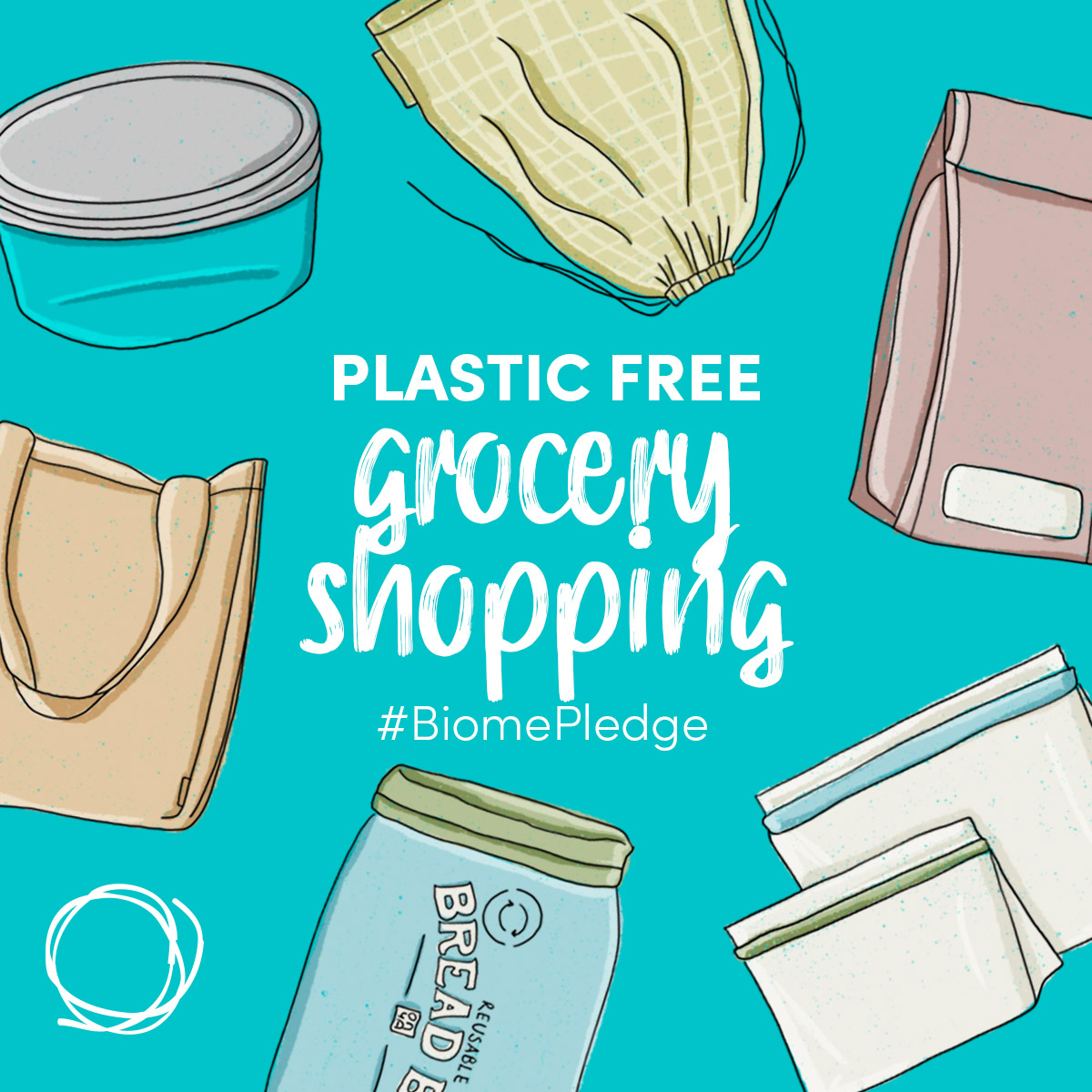 Plastic Free July - Plastic Free Grocery Shopping - Biome Eco Stores
