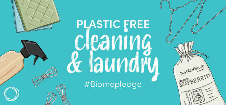 Plastic Free Cleaning & Laundry