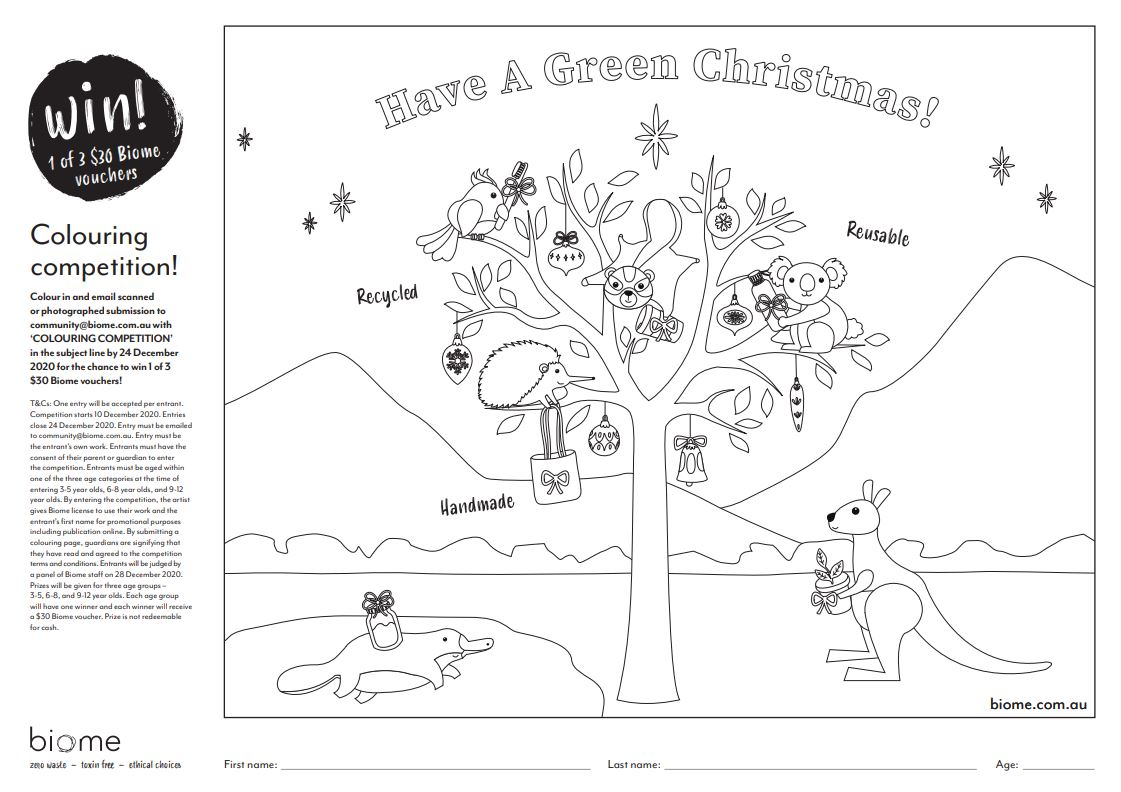 Colouring Competition Biome