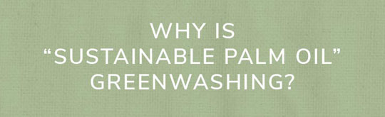 why is sustainable greenwashing