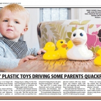 Kids plastic toys driving some parents quackpot