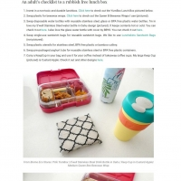 How to save the Earth with a rubbish free lunch box