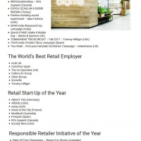 Aussies lead the charge at World Retail Award