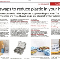 Easy swaps to reduce plastic