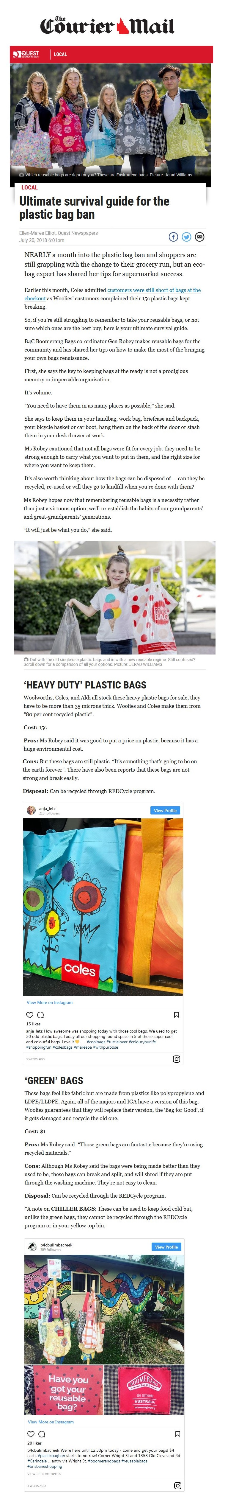 Ultimate survival guide for the plastic bag ban