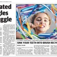 Sink your teeth into brush recycling