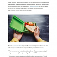 6 easy ways to make your child's lunchbox waste-free