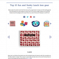 Top 10 fun and funky lunch box gear