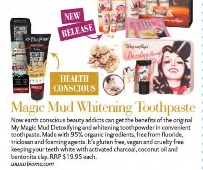Magic Mud Whitening Toothpaste