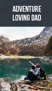 adventure loving dad