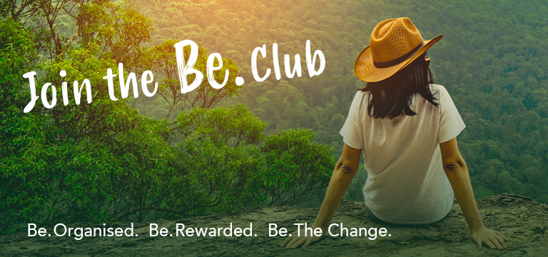 Join the Be. Club