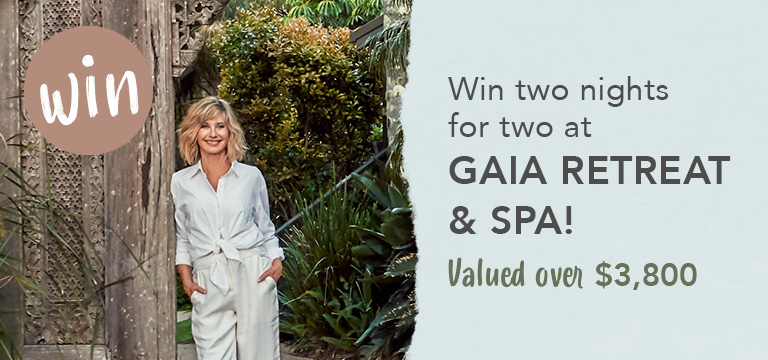Win two nights for two at Gaia Retreat and Spa
