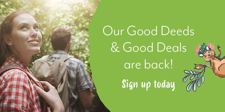 Our good deeds and good deals are back
