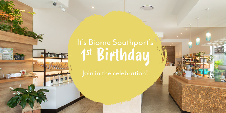 Biome Southport's first birthday