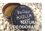 Natural deodorant, including Black Chicken Axilla deodorant paste