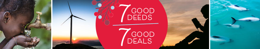 7 good deeds - 7 good deals
