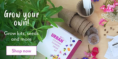 Grow your own kits, seeds and more
