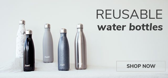 Reusable water bottles - shop now