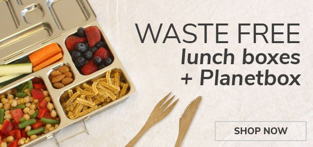 Waste Free Lunch Boxes + PlanetBox