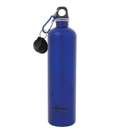 Cheeki 1 litre water bottles - blue