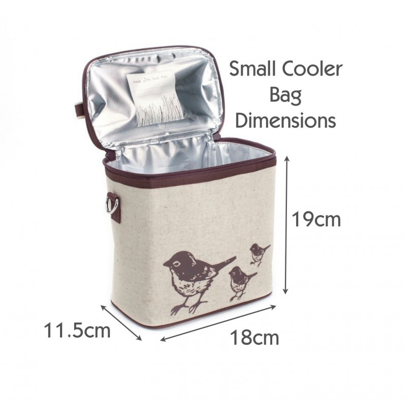 insulated lunch bag small pink fawn by soyoung australia buy online or brisbane store. Black Bedroom Furniture Sets. Home Design Ideas