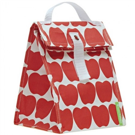 Lunchskins lunch tote - red apples
