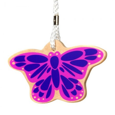 Eco bag tag - butterfly
