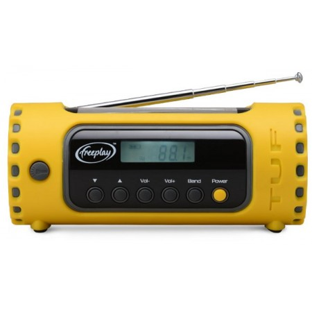 Freeplay Tuf solar & wind-up multiband radio and torch