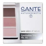 Sante eyeshadow trio - 01 rose