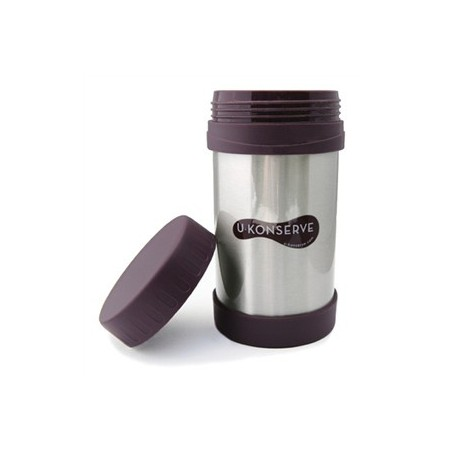 U Konserve 470ml stainless steel thermos - eggplant
