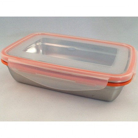 Snaps 1700ml jumbo stainless steel container