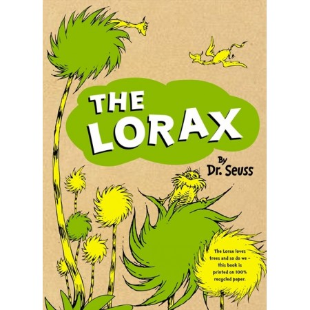 The Lorax - recycled hardcover edition