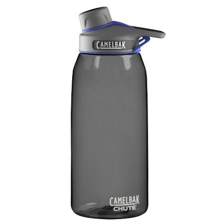 Camelbak 1L Plastic Water Bottle chute - charcoal