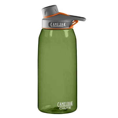 Camelbak 1L Plastic Water Bottle chute - sage green