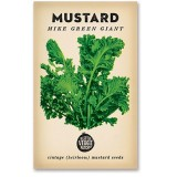 Heirloom seeds - mustard mike green giant