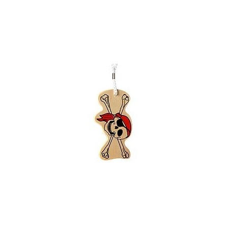 Eco bag tag - jolly roger