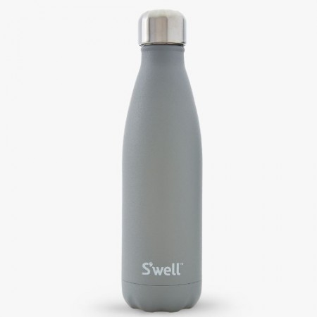 S'well insulated stainless steel bottle 500ml - smokey quartz