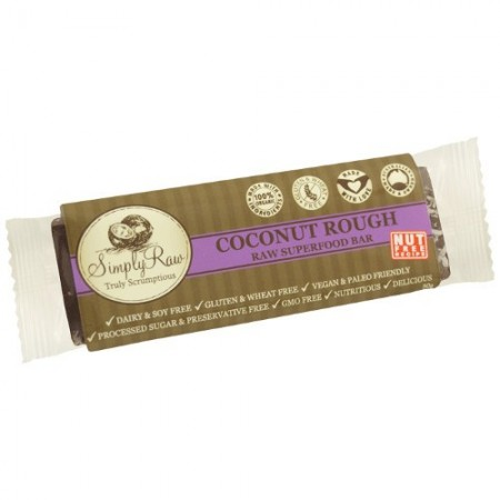 Simply raw superfood bar - coconut rough 50g