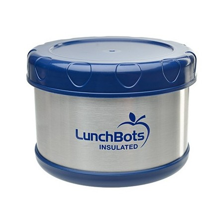 LunchBots Thermal insulated container 500ml 16oz - blue