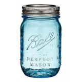Ball mason jar Pint 440ml regular mouth limited edition blue