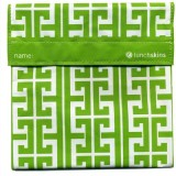 Lunchskins reusable sandwich bag - Green Key
