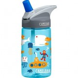Camelbak Eddy Plastic Water Bottle Kids 0.4L Sea