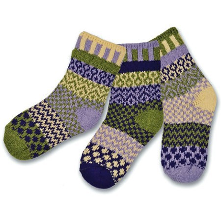 Solmate kids socks - caterpillar 6-8yrs (3)