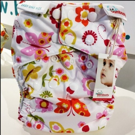 Bambooty nappy easy one size - flutterby